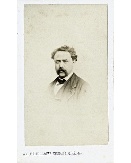 Assistant du photographe Auguste Baudelaire en 1865