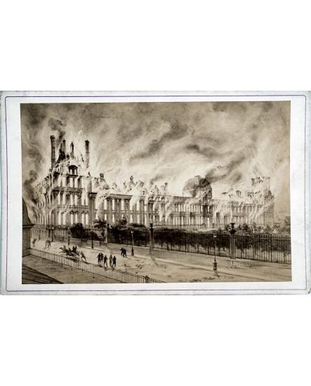 Incendie de l'hôtel des finances durant la Commune (1870)
