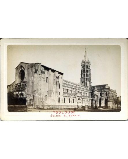 Toulouse. Eglise Saint-Sernin
