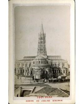 Toulouse. Abside de l'église Saint-Sernin.