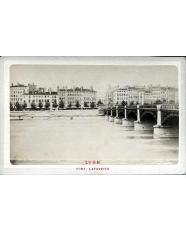 Lyon. Pont Lafayette. 1880