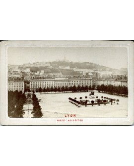 Lyon. Place Bellecour. 1880