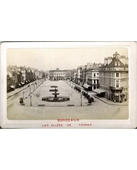 Bordeaux. Les allées de Tourny