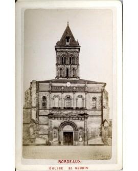 Bordeaux. Eglise Saint-Seurin. 1880