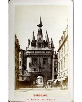 Bordeaux. Porte du Palais. 1880