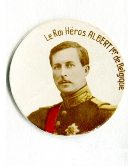 Portrait du roi Albert 1er de Belgique
