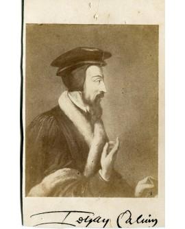 Portrait de J. Calvin