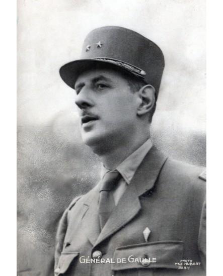 Portrait du général de Gaule