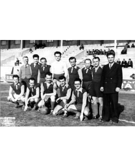 Equipe de football à Alais