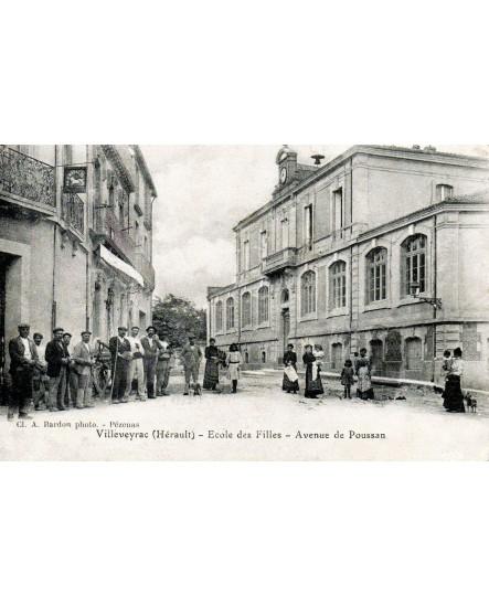 Vue de Villeveyrac (avenue de Poussan)