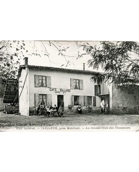 Vue du Café Villard à Villard