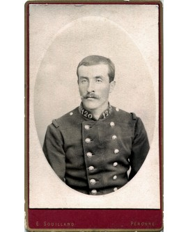 Portrait d'un militaire du 120éme régiment
