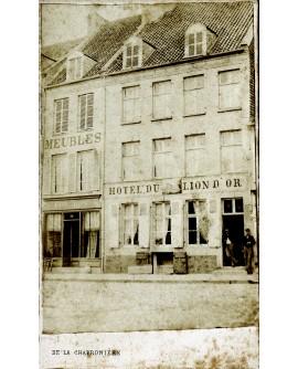 Hôtel du Lion d'Or à Calais, vers 1870