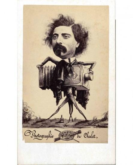 autoportrait caricature du photographe A. Reynouls