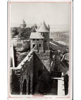 Carcassonne. Tours visigothe et de l'inquisition