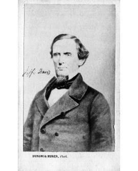 Jefferson Davis. Président de la confédération du sud