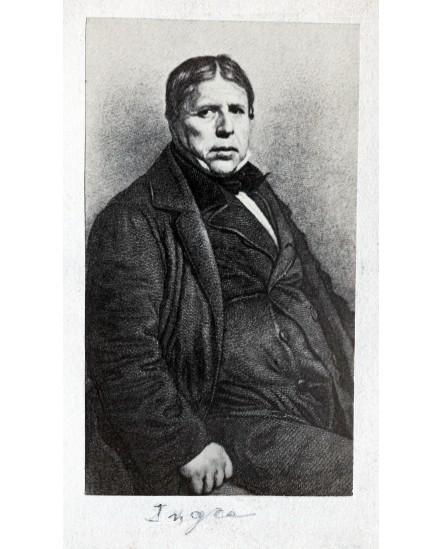 Le peintre Jean Auguste Dominique Ingres