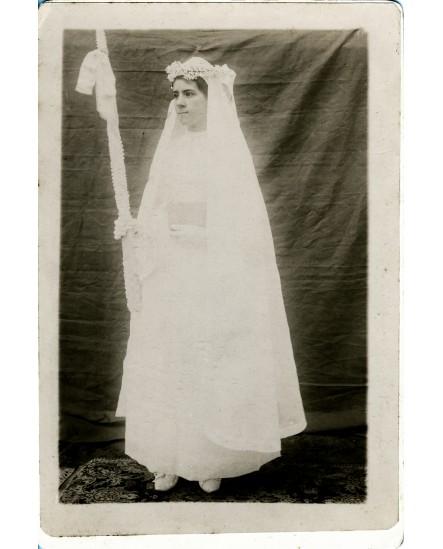 Elisa Duluc. Communion du 26 avril 1900. Ile des Pins à Nouméa