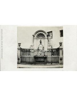 Entrée de la manufacture de Bruxelles. mars 1871
