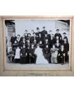 Photo de mariage avec militaire et famille