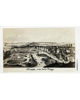 Gravure de la ville de Dieppe