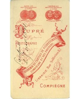 Chateau de Pierrefonds (Compiègne) 1881