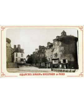 Ville de Avranches, le donjon