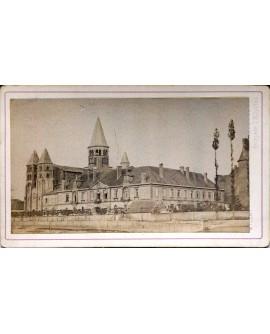 Vue de Paray le Monial en 1873