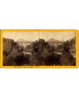 Le pont de pierre à Saint-Claude
