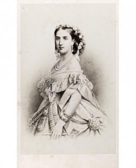 Portrait de l'impératrice Charlotte (petite-fille de Louis-Philippe)