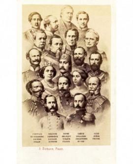mosaïque souverains contemporains 1867