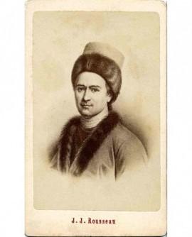 Portrait de Jean Jacques Rousseau