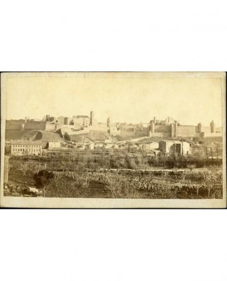 Vue de la cité de Carcassonne