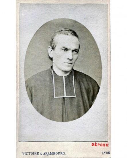Portrait du père Chevrier (PRADO) prêtre