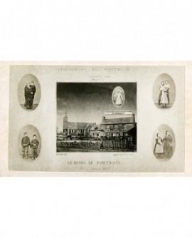 Bourg de Pontmain 17 janvier 1871, les visionnaires