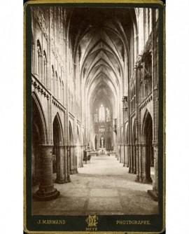 Vue intérieure de la cathédrale de Metz