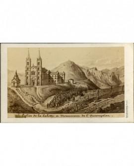 Eglise de la Salette (gravure)