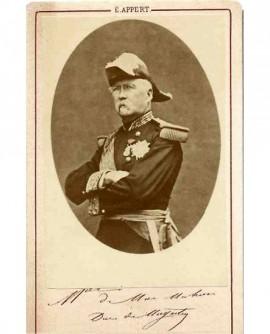 Maréchal Mac Mahon duc de Magenta, en grand uniforme