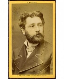 Homme barbu. Tony Robert Fleury