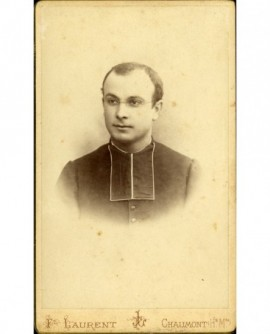 Portrait d'ecclésiastique en rabat (G. Leseur)