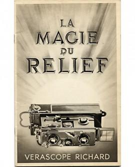 """Catalogue d'appareils photos """"La magie du relief"""""""