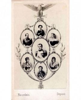Mosaïque famille impériale, Napoléon Ier