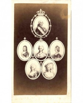 Mosaïque de la famille royale de Louis XVI