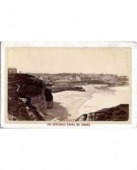 Biarritz. Vue générale prise du phare