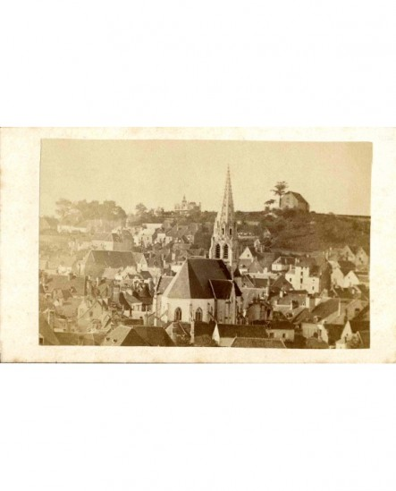 Vue générale d'un village ()