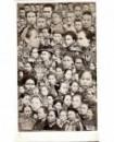 Mosaïque de visages asiatiques