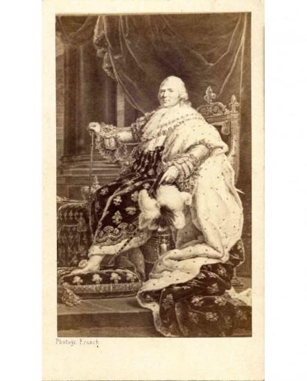 Louis XVIII (portrait en majesté par ?)
