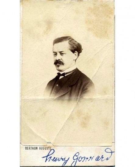Portrait du peintre Henry Gonnard