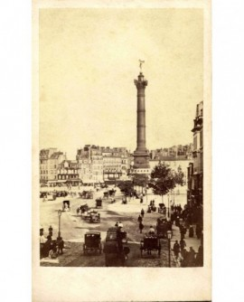 Paris: Place de la Bastille(1867)