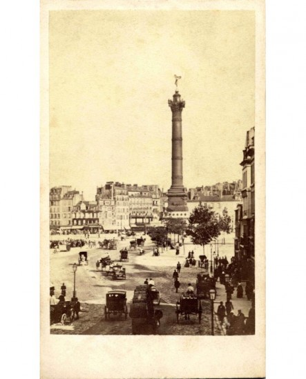 Paris: Place de la Bastille(1867)